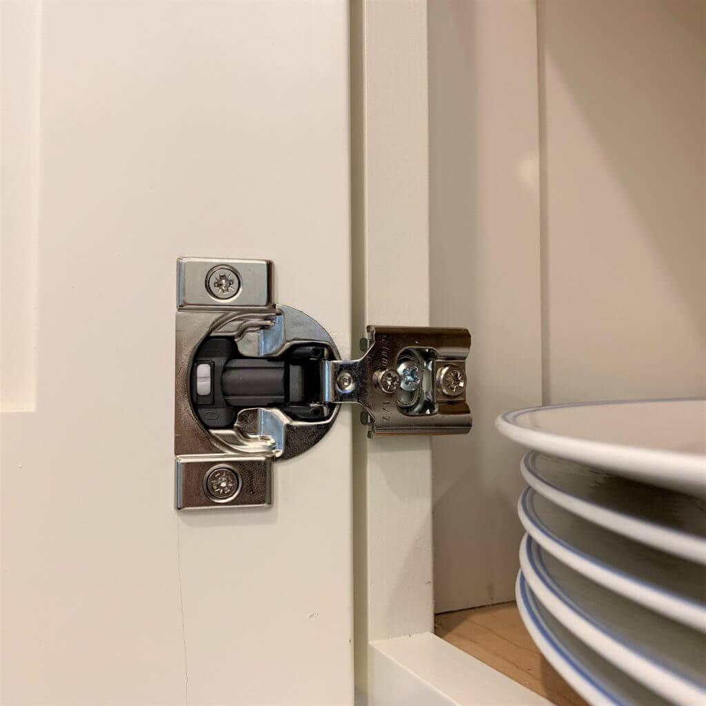 Photo of Blum kitchen cabinet hinges